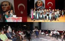 Besti Aydeniz Mesleki ve Teknik Anadolu Lisesinde mezuniyet töreni yapıldı