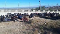 Mülteciler Yol kontrolünde Yakalandı