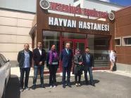 Iğdır Üniversitesi Hayvan Hastanesi İçin Teknik Gezi Düzenlendi