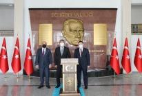 Azerbaycan Cumhuriyeti Ankara Büyükelçisi'nden Iğdır Valiliğine Ziyaret
