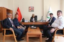 Rektör Alma ve Genel Sekreter Duman Uygulamalı Bilimleri Yüksekokulu,Teknik Bilimler ve Iğdır MYO'yu Ziyaret Ettiler