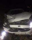 Iğdır'da görev yapan  filyasyon ekibi kaza geçirdi.