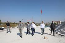 Türkler Anıtı'nda Devam Restorasyon Çalışmalarını Yerinde İnceledi