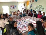 İSTANBUL ATAŞEHİR BELEDİYESİNDEN TUZLUCA'DA Kİ OKULA YARDIM