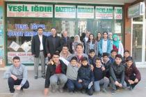 Öğrenciler Gazetemizi Ziyaret Etti