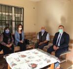 Hatice Sarıibrahim Hanımefendi Şehidimiz Suat Aras'ın Ailesini İkametlerinde Ziyaret Etti