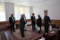 Iğdır Ehl-i Beyt Alimleri Derneği Üyeleri Veli Beder Önderliğinde Rektör Alma'yı Ziyaret Etti