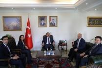 İZDES Heyeti Vali  Sarıibrahim'i Ziyaret Etti