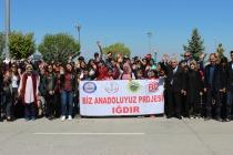 BİZ ANADOLUYUZ PROJESİ KAPSAMINDA 90 ÖĞRENCİ ESKİŞEHİR'E UĞURLANDI