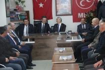 Vali'den Ak Parti ve MHP'ye İadeyi Ziyaret