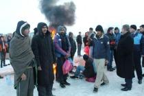 Donmak Üzere Olan Kaçakları Zabıta Müdürü Kurtardı