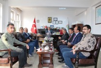Karakoyunlu ve Aralık İlçe Belediye Başkanları Özkan YOLCU'yu Ziyaret Ettiler