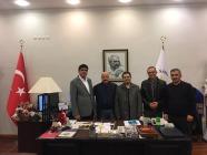 Iğdır Üniversitesi Heyetinden Atatürk Üniversitesine Bir Dizi Ziyaret