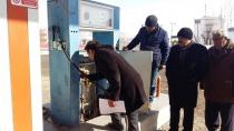 IĞDIR'DA  LPG VE AKARYAKIT İSTASYONLARI DENETLENDİ