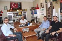 Ahmet Tutulmaz'dan 24 Temmuz  Gazeteciler ve Basın Bayramı Ziyareti