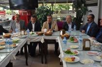 Belediye Başkanı Murat Yikit Gazetecilerle Bir Araya Geldi