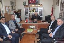 Abbas Gündüz'den Gazetemize Nezaket Ziyareti