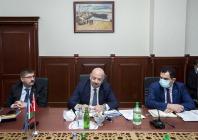 Vali  H. Engin Sarıibrahim Bakü'de Düzenlenen Azerbaycan – Türkiye Ortak Gümrük Komitesi Dördüncü Toplantısına Katıldı