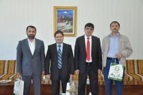 Erzurum Atatürk Üniversitesi Öğretim Üyelerinden Prof. Dr. Alma'ya Ziyaret