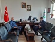 Rektör Alma'dan, Fen Edebiyat Fakültesi Dekanı Prof. Dr. İbrahim Demirtaş'a Hayırlı Olsun Ziyareti