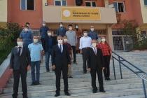 Iğdır'da Öğretmenler ve öğrenciler  dezenfektan makinesi üretiyor