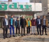 """Şerafettin YİĞİT"""" Şampiyonları Uğurladı"""