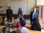 Milli Eğitim Müdürü Aydoğdu, okulları ziyaret etti