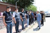 Polis Merkezi Amirliğine Bayram Ziyareti
