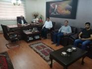 Rektör Alma'dan Ağrı Gazeteciler Cemiyetine Ziyaret