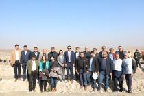 Iğdır Belediyesi Fidan Dikimi Etkinliğine Personelleri İle Birlikte Katıldı