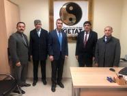 Rektör Alma İnönü Üniversitesi Tıp Merkezi'ni Ziyaret Etti