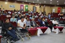 """""""Engelli Toplumla Nasıl Yaşanır"""" konferansı düzenlendi"""