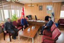 Rektör Alma Halfeli Beldesi Belediye Başkanı Başkara'ya İade-i Ziyarette Bulundu