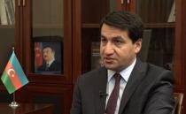 Hikmet Hacıyev:Uluslararası toplumu, Ermenistan'ı Kınamaya Çağırdı