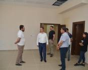 Vali Ünlü, 112 Acil Çağrı Merkezi Yeni  Kurum Binasında İncelemelerde Bulundu
