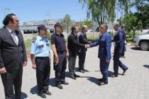 Iğdır Valisi Ahmet Turgay ALPMAN ve Beraberindeki Protokol Üyeleri Bayram Ziyareti