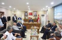 Bakan Pakdemirli Ak Parti İl Başkanlığını Ziyaret Etti