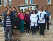 Tuzluca Devlet Hastanesi Personellerinin Yüzleri Gülmeye Başladı