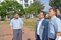 Mehmet Çavuş Şehitlik Anıtı'nın Çevre Düzenleme Çalışmaları Devam Ediyor