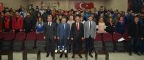 VALİ ENVER ÜNLÜ BEDEN EĞİTİMİ  ÖĞRETMENLERİYLE TOPLANTI YAPTI