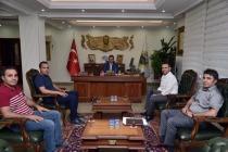 TOBB HEYETİ VALİ ENVER ÜNLÜ'YÜ ZİYARET ETTİ