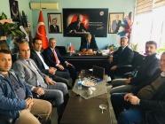 Gençlik ve Spor İl Müdürü Yiğit'ten Belediye Başkanlarına Ziyaret