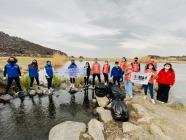 TEMA Vakfı ve Iğdır Gençlik Merkezi Karasu Çayı için El Ele Verdi