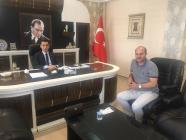 Vali Yardımcısı Hasan Uğuz'a Hayırlı Olsun Ziyareti