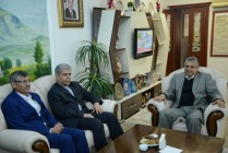 İRAN'IN ERZURUM BAŞKONSOLOSU VALİ AHMET TURGAY ALPMAN'I ZİYARET ETTİ