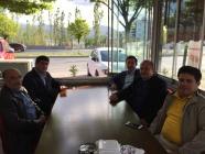 Diyadin Belediye Başkanı Salih Yaşar'ı Ağırladık