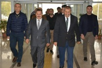 Iğdır Ak Parti Milletvekili Nurettin Aras  Iğdır Emniyet Müdürlüğü'nü Ziyaret Etti