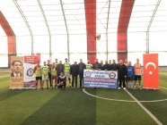 24 Kasım Öğretmenler Gününe özel Futbol Turnuvası Düzenlendi