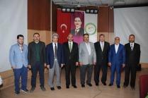 """ÜNİVERSİTEMİZDE """"IĞDIR'DA DİNİ HAYAT"""" KONULU PANEL YAPILDI"""