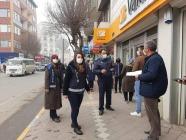 COVİD-19 salgınına  karşı denetimler  artırıldı